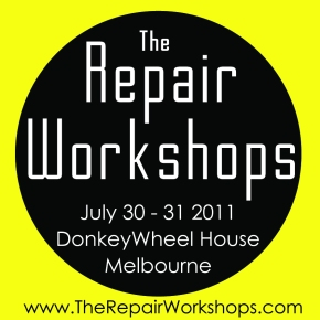 Upcoming Repair Workshops as part of State of Design