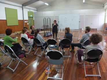 Workshop meeting, photo credits: Tim Denshire-Key