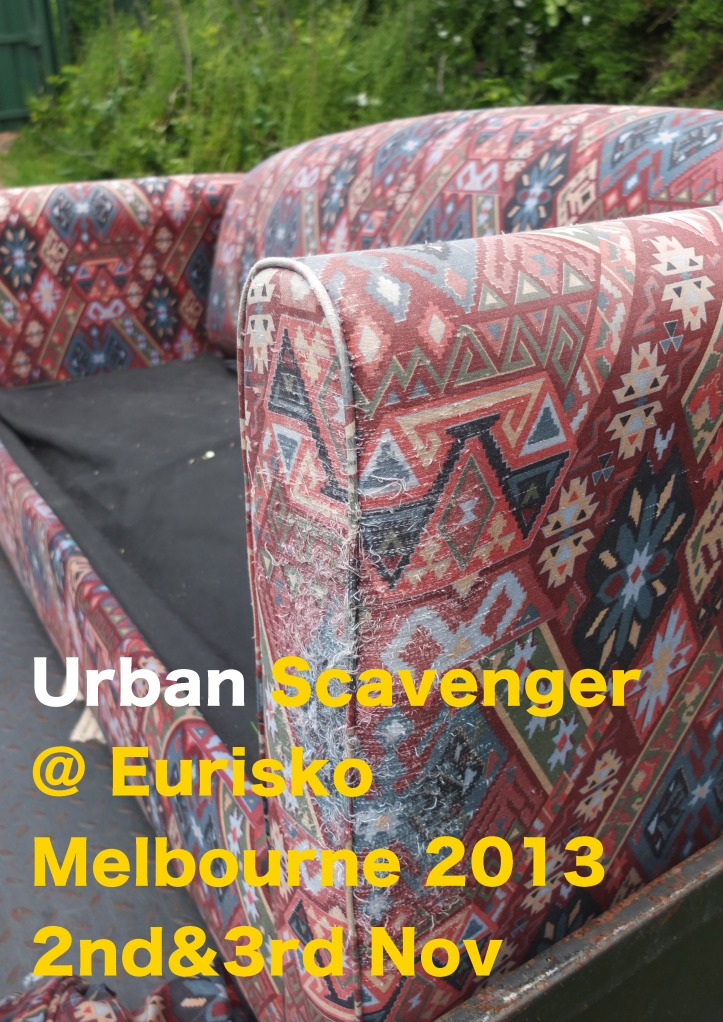 Urban Scavenger@Eurisko poster 27-10-13