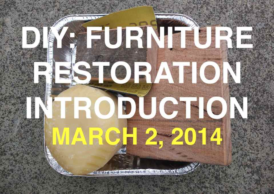 FURNITURE RESTORATION POSTER