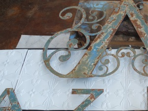 Custom signage