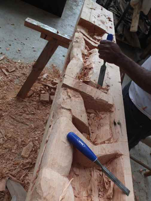 Stephanos carving, LIW 2014 - 4