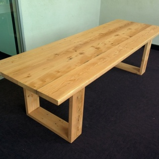 Boardroom table, made to order