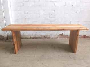 recycled hardwood bench seat