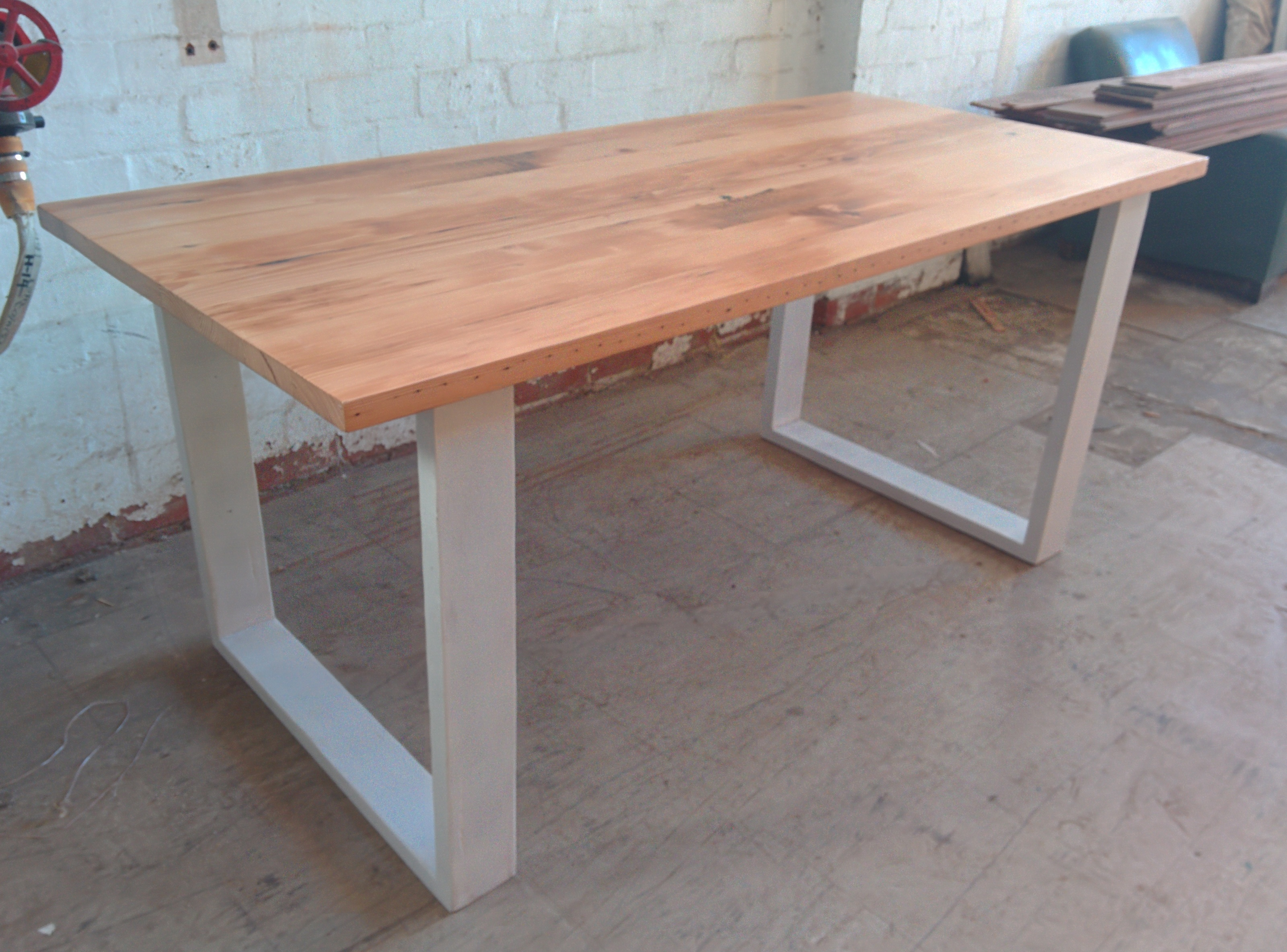 Recycled timber tables tim t design for Reclaimed wood furniture oregon