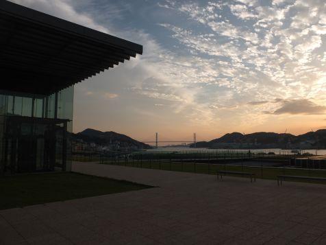 Nagasaki Prefectural Art Museum, rooftop garden
