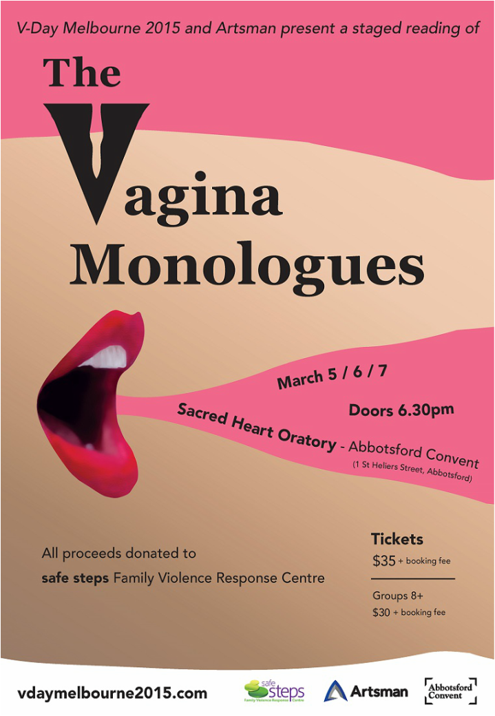 Opening Tonight The Vagina Monologues At The Convent