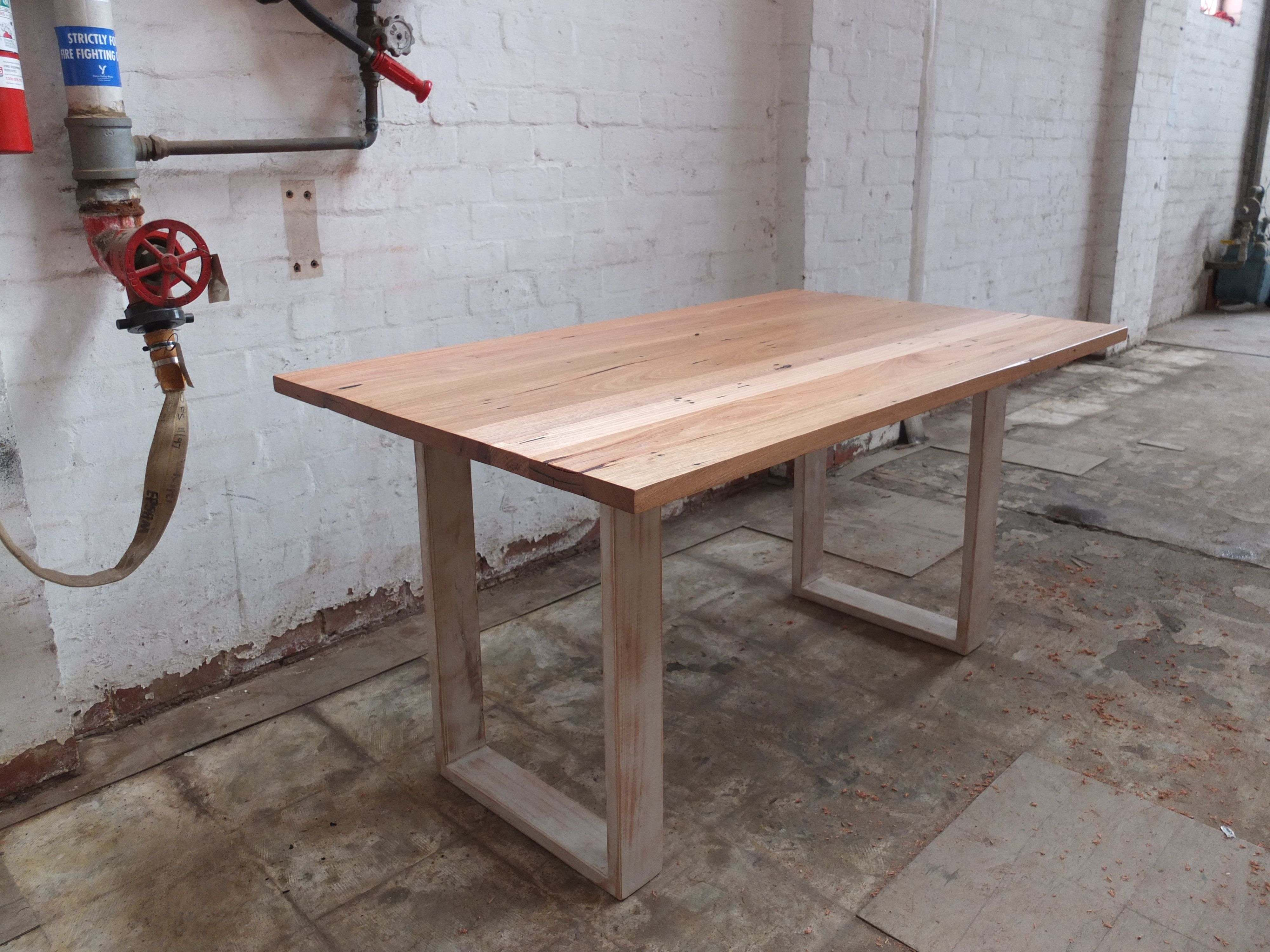 Reclaimed Round Dining Room Table