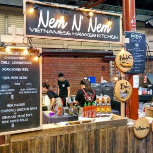 food stall design