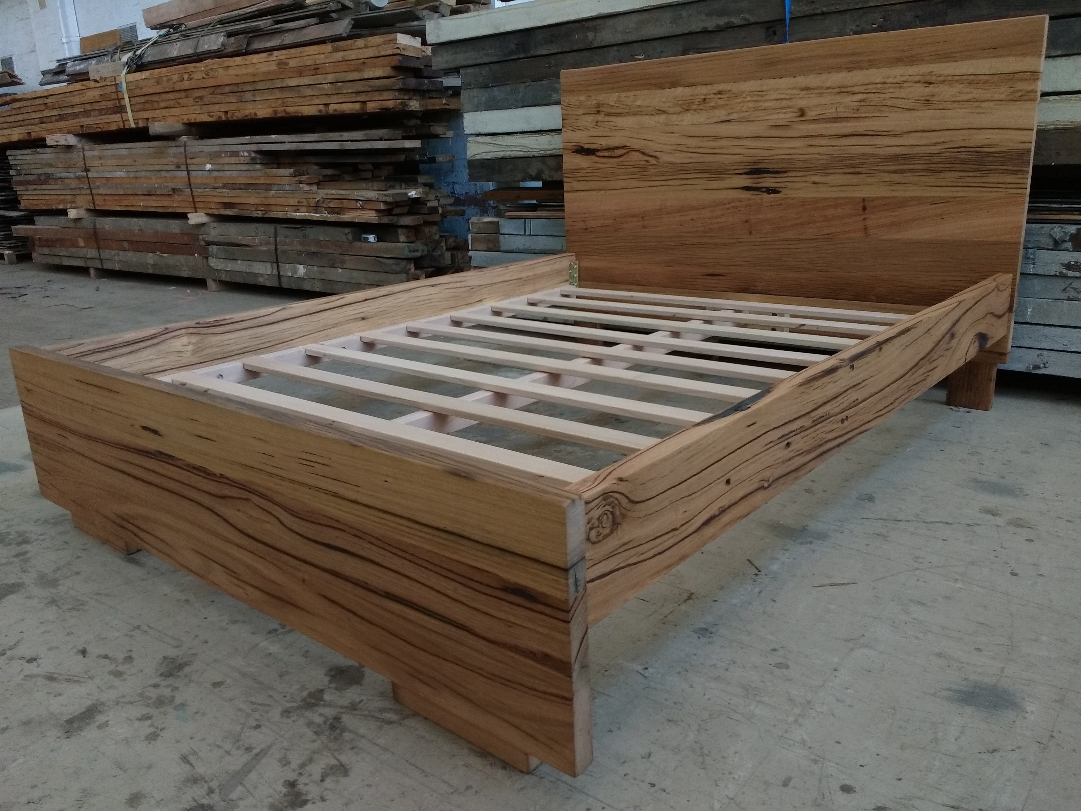 recycled timber bed frames and furniture