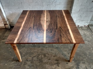 Recycled piano table