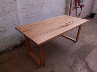 Recycled Stringybark table
